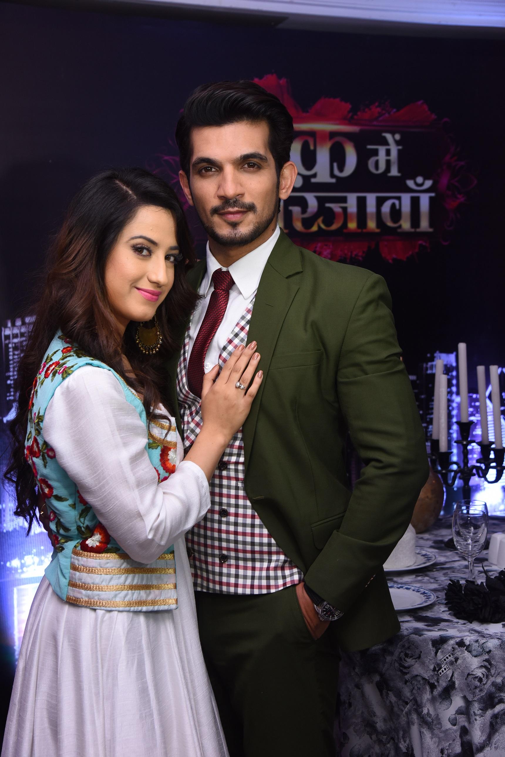 Alisha Panwar and Arjun Bijlani