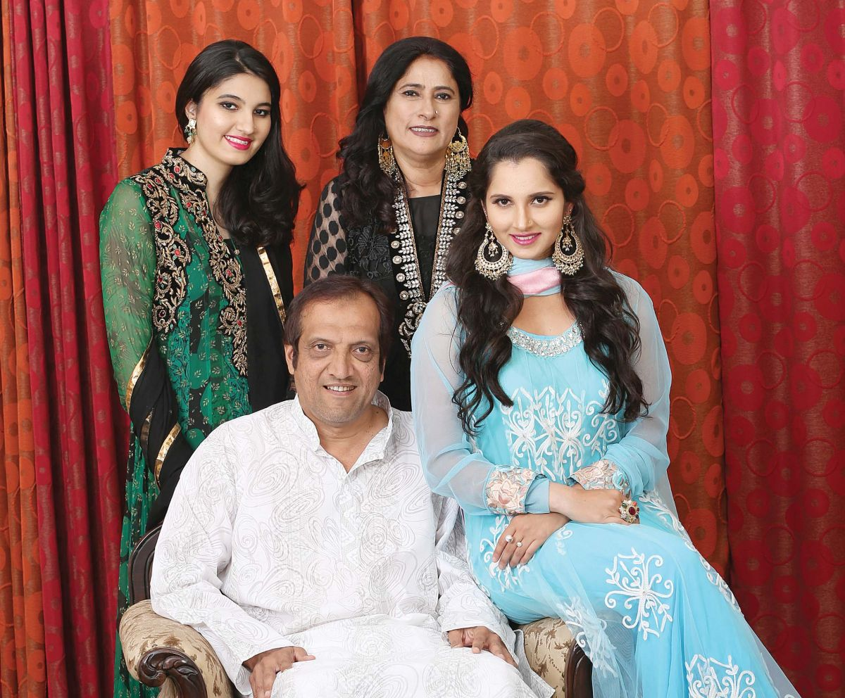 eid ul fitr imran nasima sania and anam mirza you i sania s younger sister anam is a fashion designer and stylist who along fianceacute akbar rasheed has curated the label bazaar a fashion exhibition