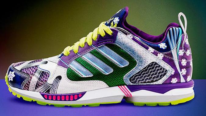 Adidas Originals x Mary Katrantzou collection • Taking initial inspiration  track shoes ...