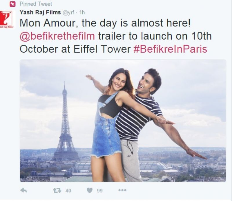 Befikre-launch