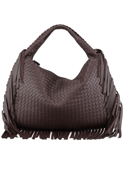 Bottega Veneta Veneta Large Fringed Hobo Bag