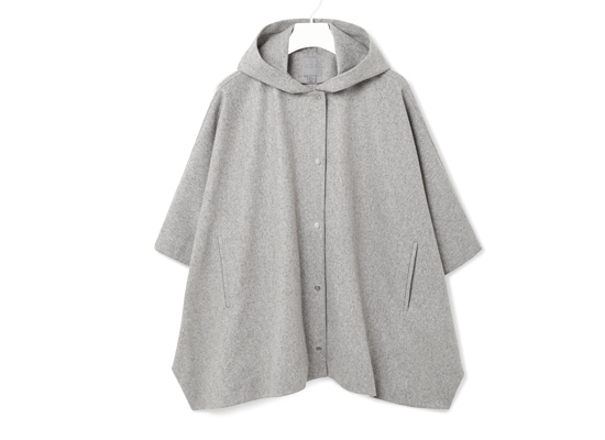 COS hooded cape jacket
