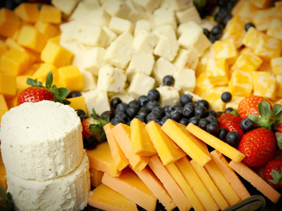 Cheese has high calcium content which supports bone health