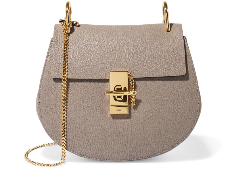 Chloe-Drew-small-textured-leather-shoulder-bag