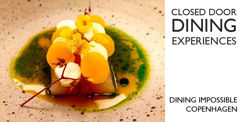 The underground dining experience takes place from August 11-13 in Copenhagen, Denmark