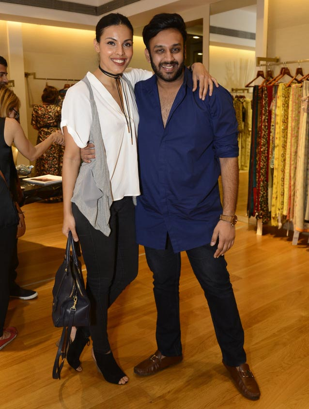 Deepti Gujral and Nikhil Thampi