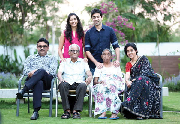 Dr. A.V. Gurava Reddy with his Family
