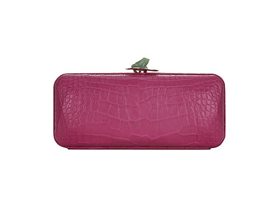Ethan K Frog Lily Alligator Clutch