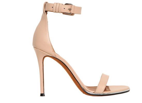 Givenchy Nadia sandals in neutral leather
