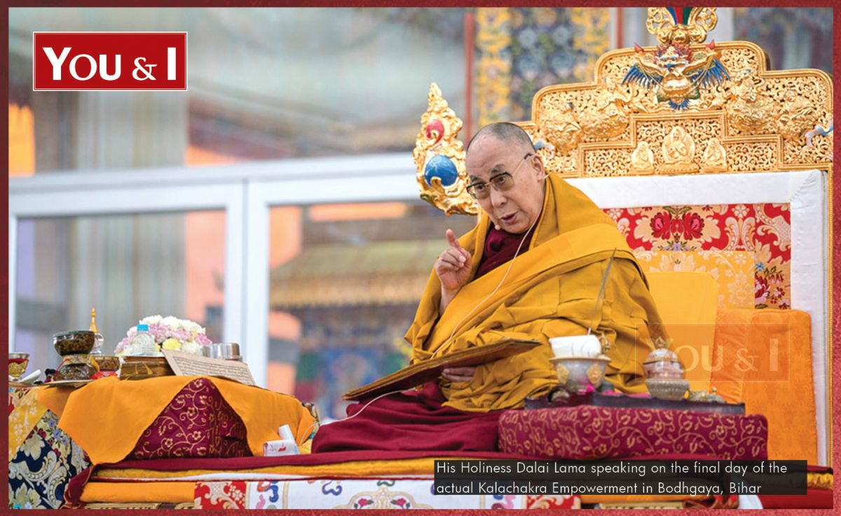 enlightenment through wisdom his holiness the dalai lama you i four years after the death of the 13th dalai lama in 1933 the buddhist monks were guided by their vision to the northeast part of tibet