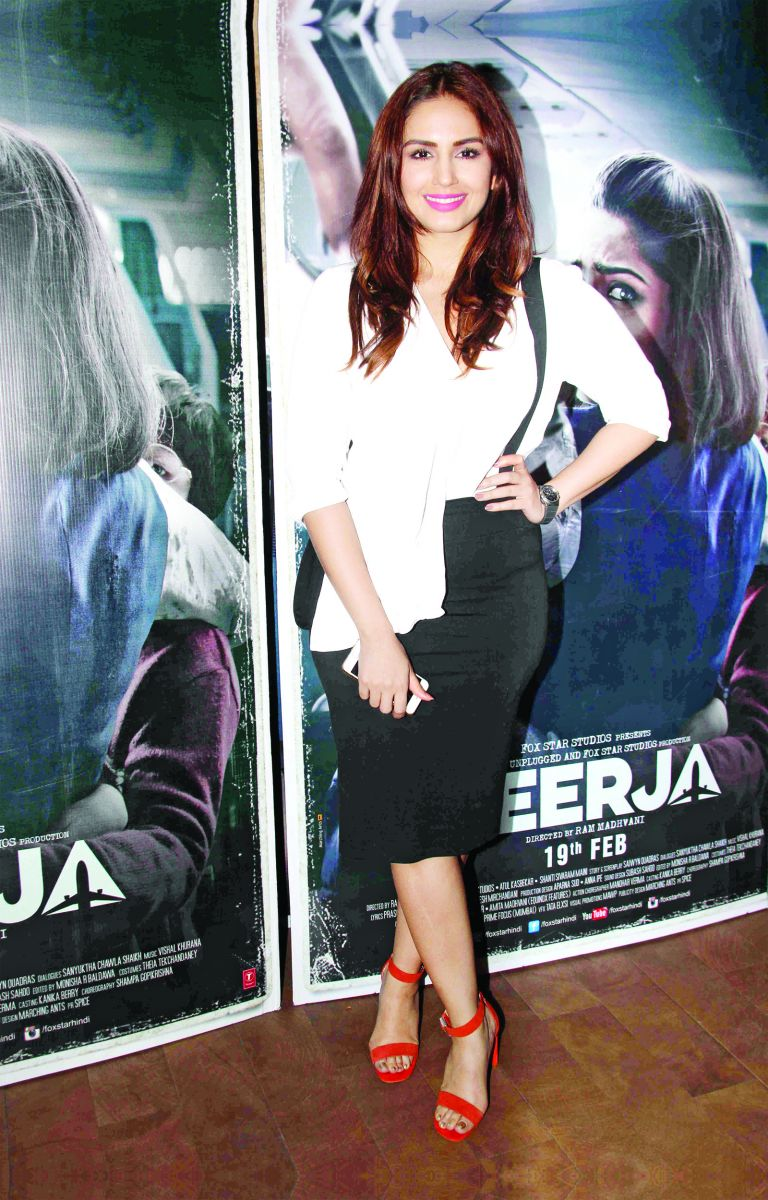 Huma-Qureshi-what-they-wore-skirt