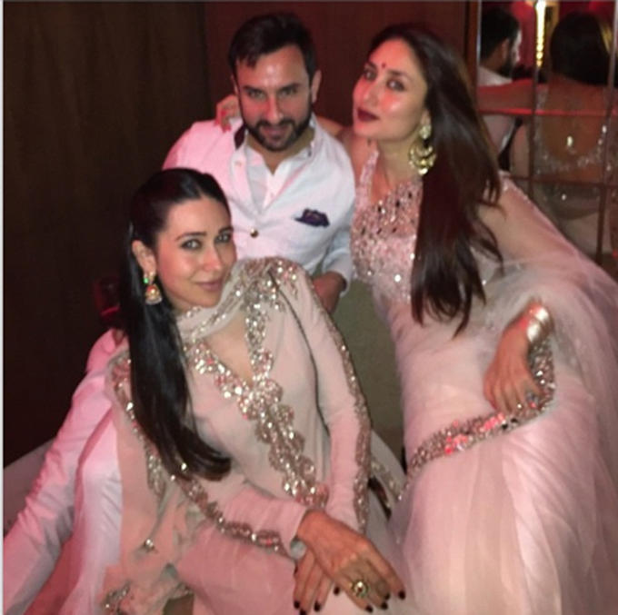 Karishma Kapoor is often seen hanging out with the couple