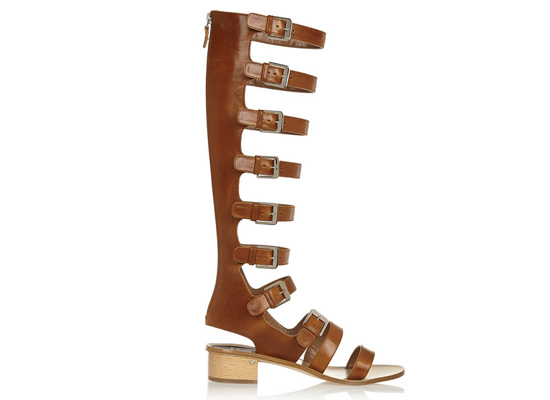 Laurence Dacade Halle leather sandals