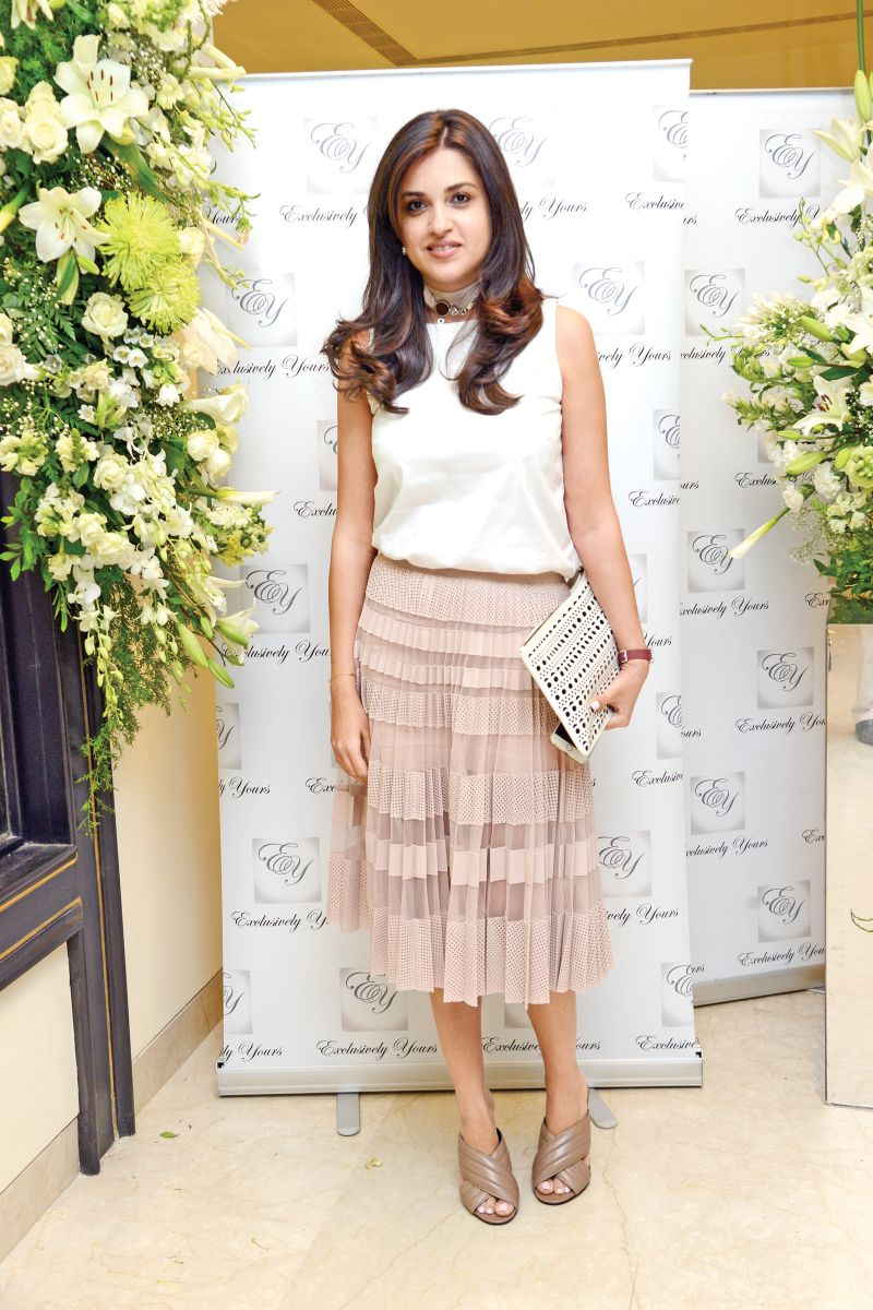 Pooja-Advani-what-they-wore-skirt