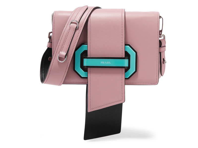 Prada-Ribbon-leather-shoulder-bag