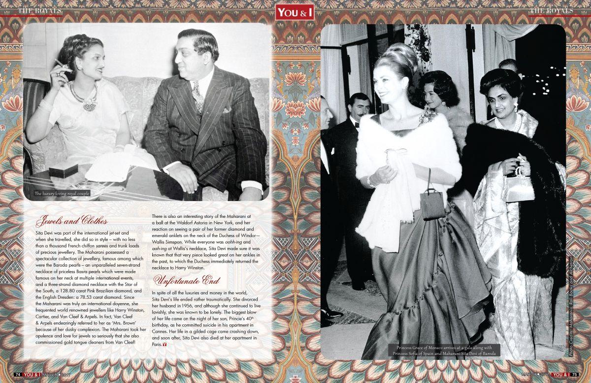 The Grand Indian Maharani - Maharani Sita Devi of Baroda | You & I