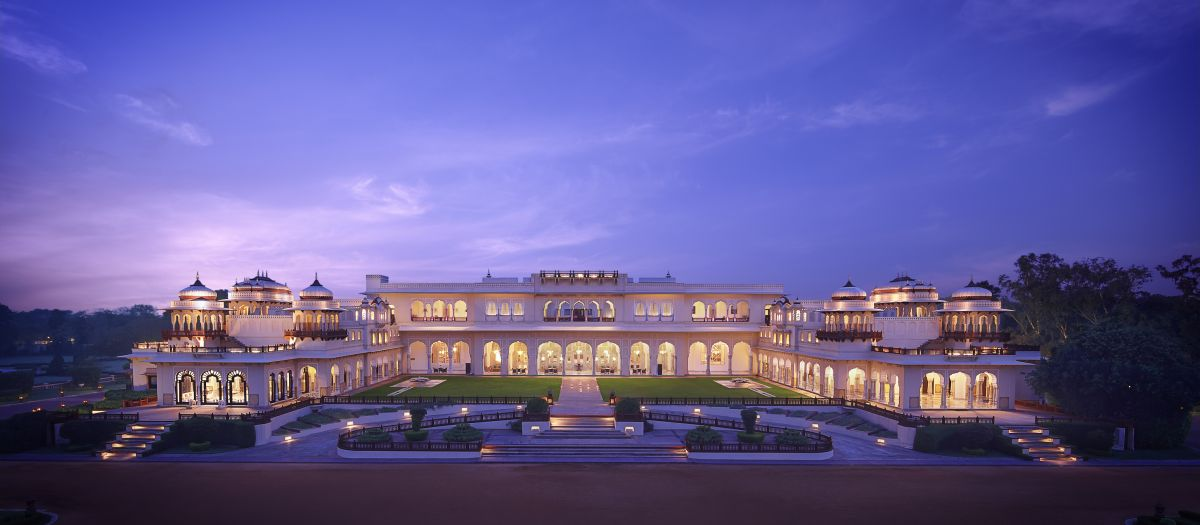 Rambagh Palace, JaipurOnce the residence ... ing, in its truest and grandest form.