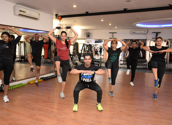 Rasheed Khan is a trainer at Raw Fitness Gym