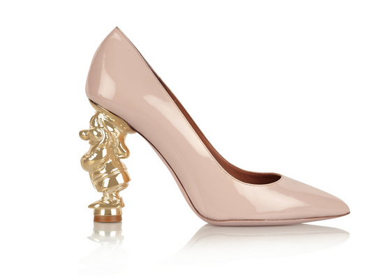 Red Valentino Snow White Disney© patent-leather pumps