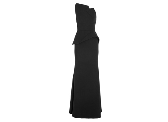 Roland Mouret Chafer wool-crepe gown