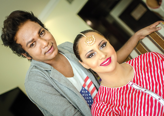 Sandy is a makeup artist in Hyderabad