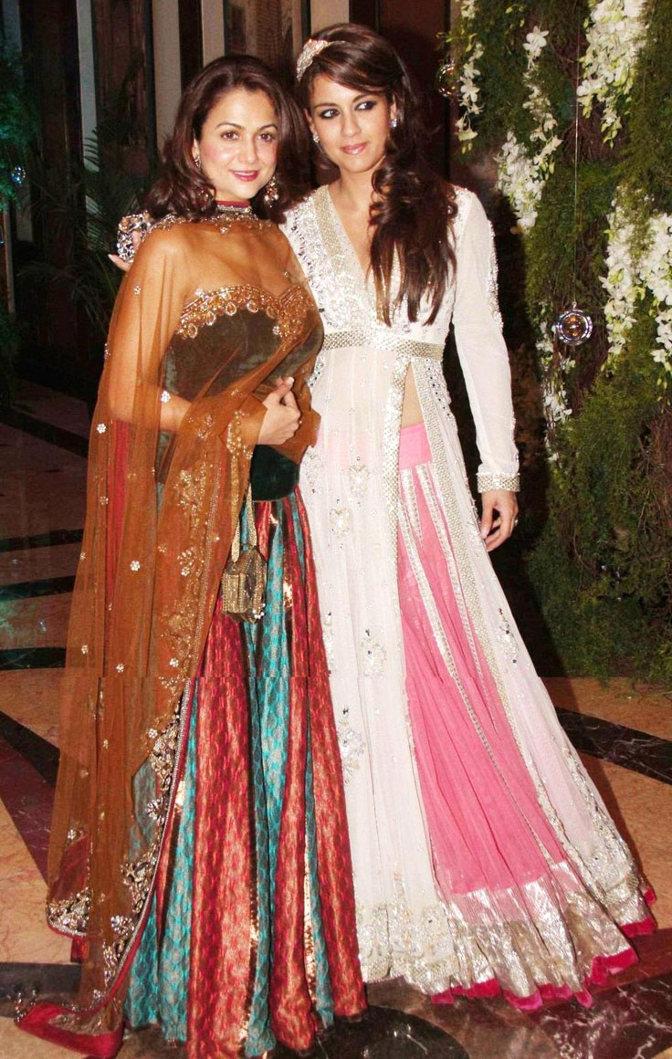 Seen here wearing Manish Malhotra