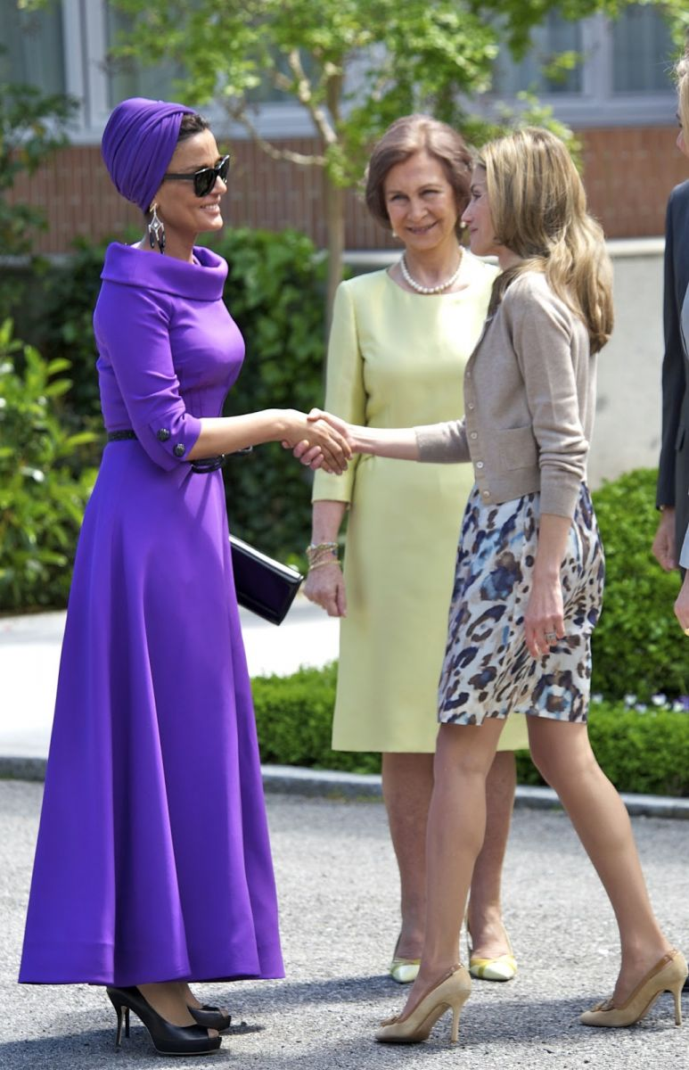 Sheikha Mozza's bold style often overshadowns other ladies