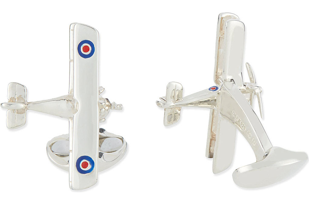 DEAKIN AND FRANCIS Spitfire cufflinks