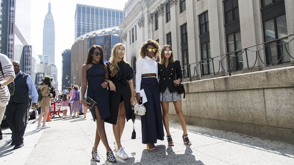 Street Style at NYFW