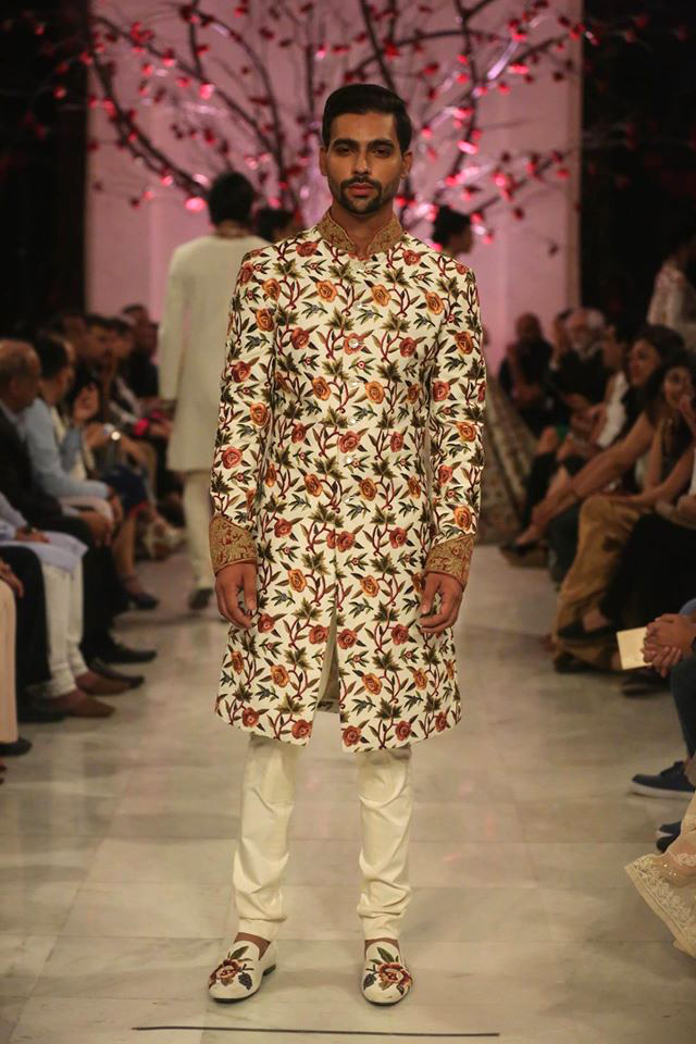 The men had ample choice as well from BAl's latest collection that focussed on floral embroidery