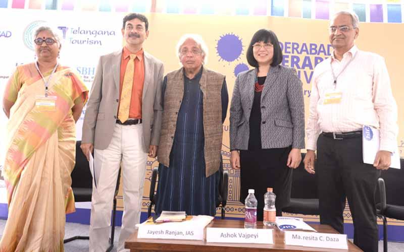 Kinnera Murthy, Jayesh Ranjan, Ashok Vajpeyi, Ma. Teresita C. Daza, and Ajay Gandhi