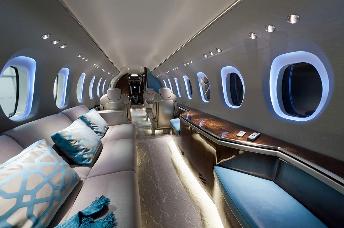 Coolest private jet interiors you i for Top 20 luxury hotels in the world