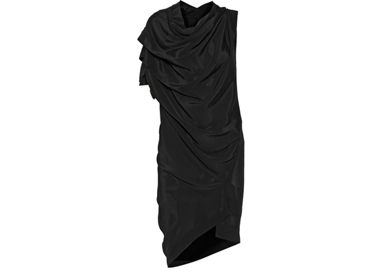 Vivienne Westwood Anglomania Rill draped satin-crepe dress