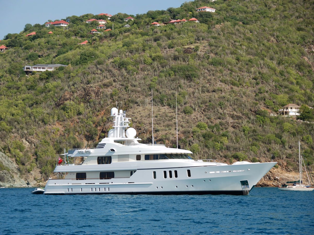 Yachts are a super favoritefor people coming to St Barths