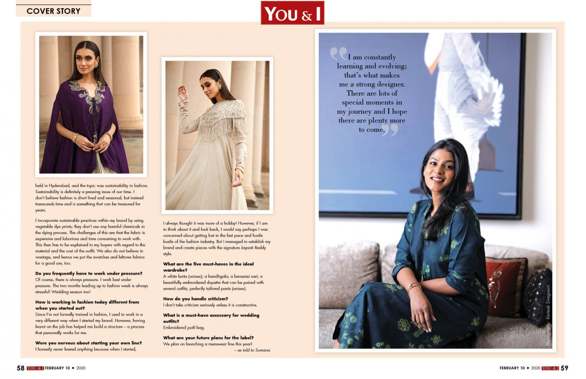 Shining Threads Of Success Jayanti Reddy You I