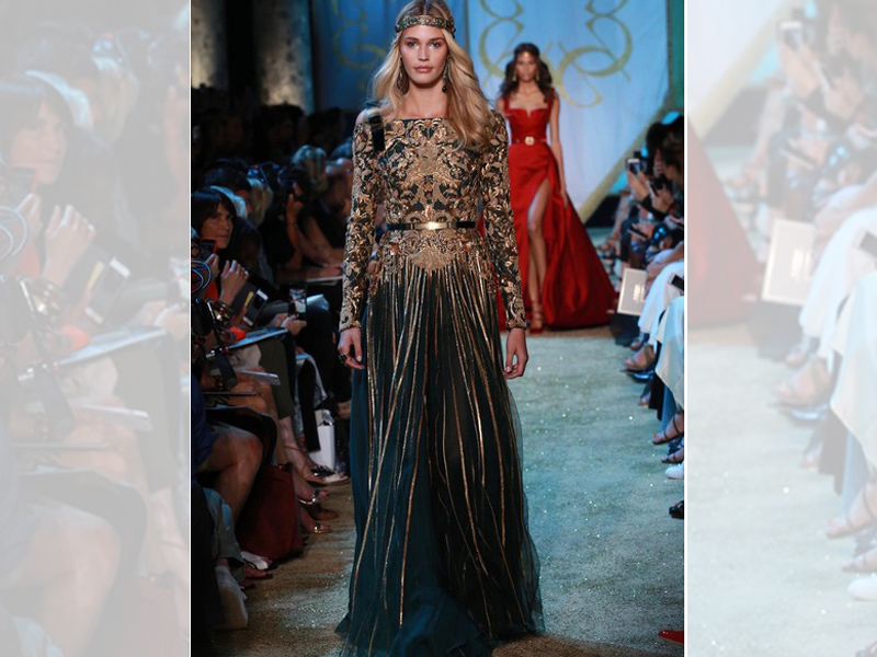 """Elie Saab\'s Latest Couture Collection Inspired From """"Game of Thrones ..."""