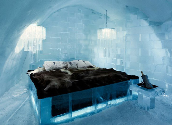 Deluxesvit at Ice Hotel, Sweden