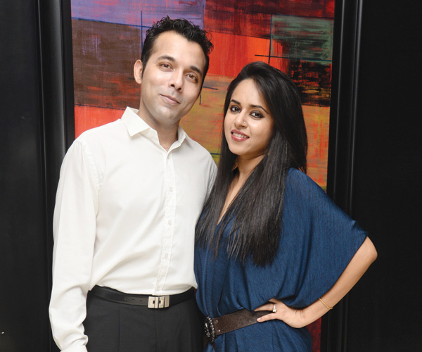 Rohan Lepps and Meghna Rao