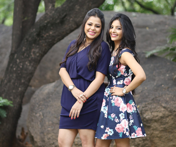 Shweta Keerthi and Nitya Jalan