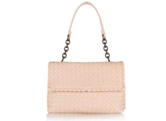 Bottega Veneta Olimpia intrecciato leather shoulder bag