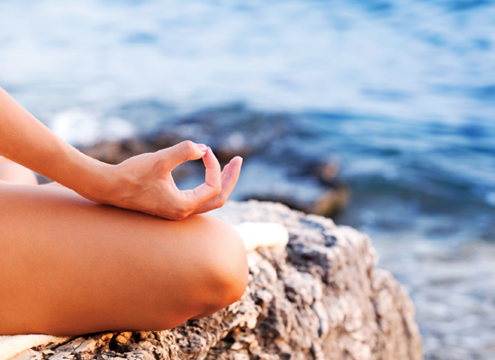 Meditation is a great way to release energy and reduce irritation or anxiety