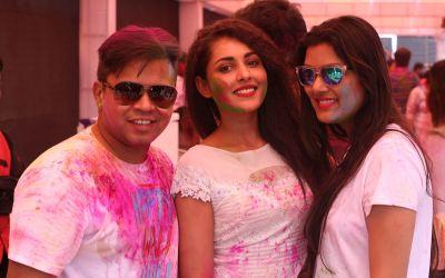 Abhishek, Madhu Shalini and Mansi