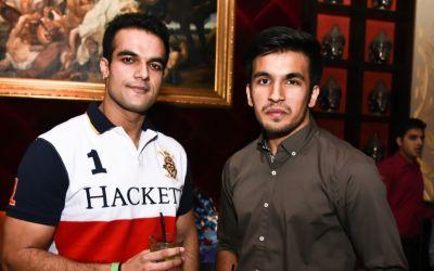 Abhishek Sharma with friend