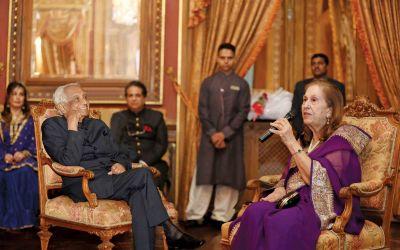 Air Chief Marshal Idris Latif and Begum Bilkees Latif