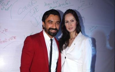 Ajaz Khan and Andrea