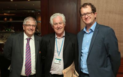 Bob  Woodwards, Peter Dangerfield, and Matthew Hadfield