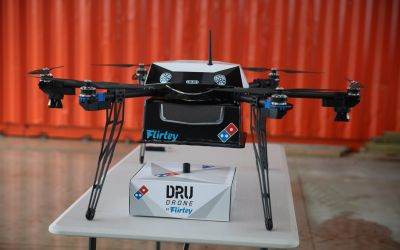 Domino's Pizza wants drones to deliver cheesy goodness right to your door