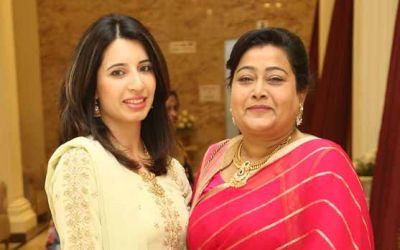Farheen Ansari and Lubna Mirza