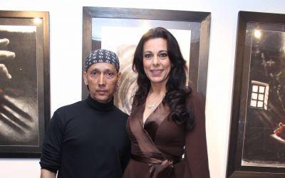 Gautam Patole and Pooja Bedi