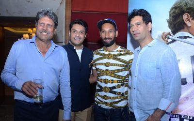 Kapil Dev, Sidharth Arora, Sardar Singh and Jasbir Jassi